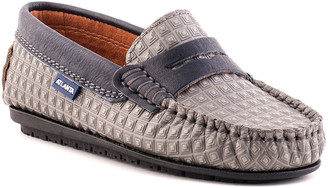 Atlanta Mocassin Atlanta Moccasin Pyramid Squares Leather Penny Loafer