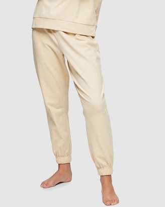 Topshop Peached Jersey Loungewear Joggers