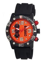 Breed Grand Prix Mens Watch Orange