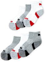 Puma Toddler Boys) 6-Pack Low-Cut Crew Socks