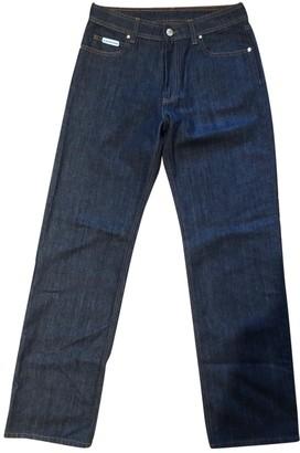 ALEXACHUNG Alexa Chung Navy Cotton Jeans for Women