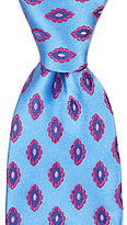 Ted Baker Oval Flowers Traditional Silk Tie