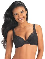 Vassarette Women's Lace Padded Push Up Bra 75320