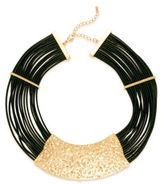 Saks Fifth Avenue 14K Gold-Plated Iron, Zinc & Leather Necklace