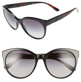 Burberry Women's 56Mm Retro Sunglasses - Black