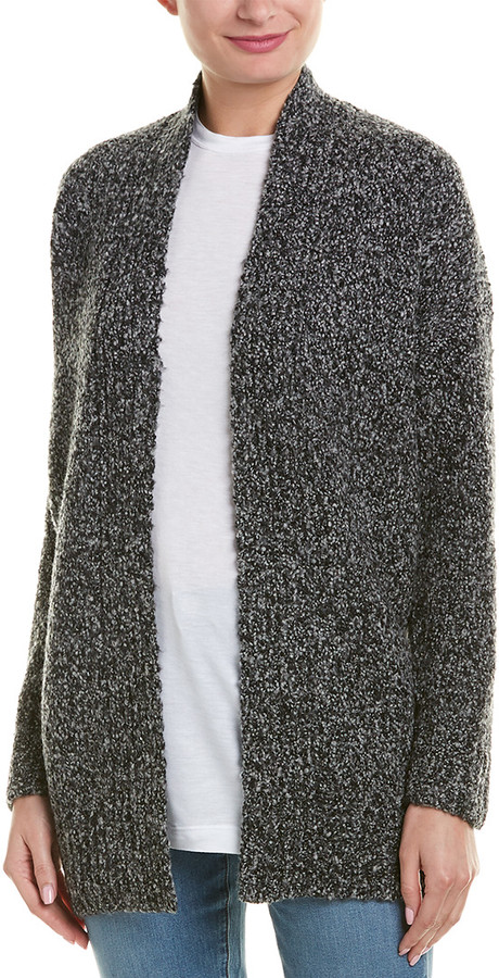 Vince Boucle Wool, Cashmere, & Silk-Blend Cardigan