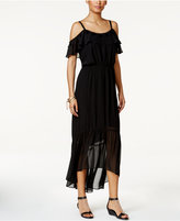 Thalia Sodi Off-The-Shoulder Illusion Maxi Dress, Only at Macy's