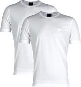 Boss Twins 01 White Crew Neck T-shirt (twin Pack)