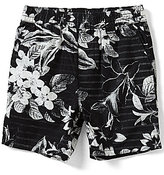 Hurley Little Boys 2T-7 Floral Tropical-Printed Pull-On Shorts