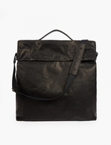 Maison Margiela Black Leather Tote Bag