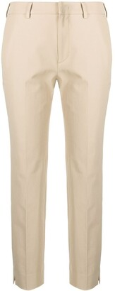 Pt01 Slim-Fit Cropped Trousers