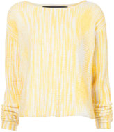 The Elder Statesman Rolo cropped crochet sweater