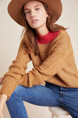 Anthropologie Sona Colorblocked Sweater