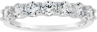 Affinity Diamond Jewelry Affinity 1.00 cttw Diamond 7-Stone Band Ring, 14K Gold