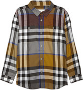 Burberry Checked cotton shirt 4-14 years