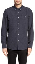 Obey Men's Hadley Slim Fit Nep Flannel Woven Shirt