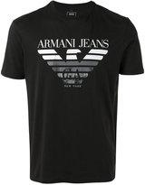 Armani Jeans logo T-shirt - men - Cotton - M