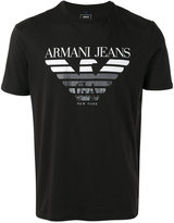 Armani Jeans logo T-shirt - men - Cotton - XL
