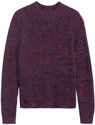 Banana Republic Marled Mock-Neck Sweater