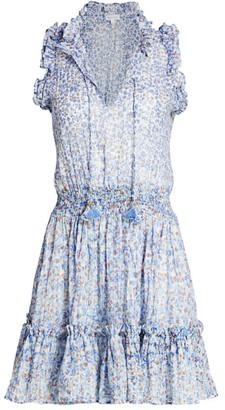 Poupette St Barth Triny Smocked Floral Dress