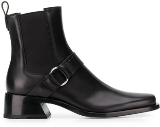 Givenchy low heel Chelsea boots