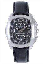 Chronotech Men's CT.7895M/92 Black Calfskin Band watch.