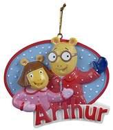 Kurt Adler Bas-Relief Resin Arthur & Dw Ornament - Christmas Ornament