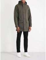 Michael Kors Shearling-trim Hooded Shell Parka Coat