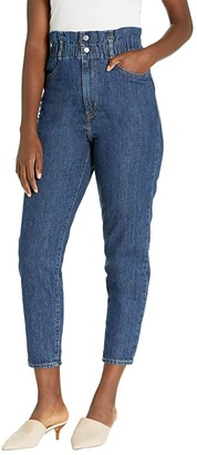 Levi's(r) Womens High-Waisted Paperbag (Short Fused) Women's Casual Pants