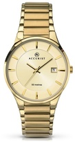 Accurist Gold Plated Bracelet Watch 7008.01
