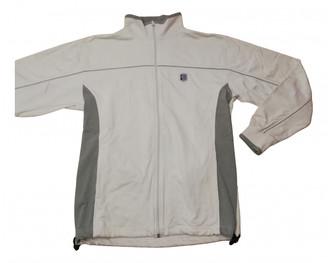 Asics White Cotton Jackets