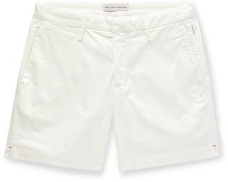 Orlebar Brown Beacher Slim-Fit Garment-Washed Stretch Cotton-Twill Shorts