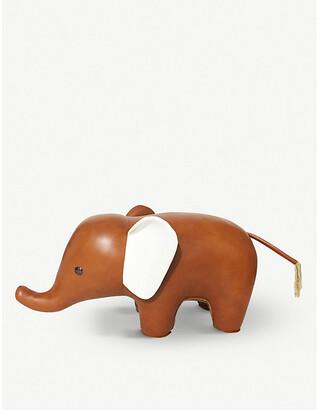 Selfridges Elephant leather doorstop 1.24m