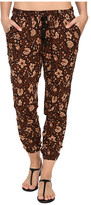 Amuse Society Tash Printed Gauze Beach Pants