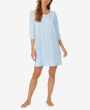 Carole Hochman Women's Short 3/4 Sleeve Nightgown