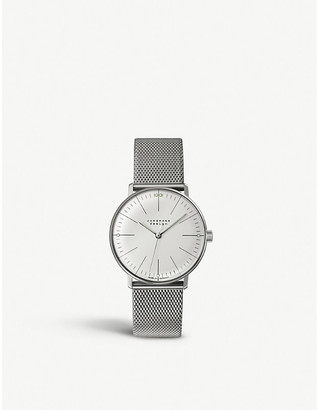 Junghans 047/4250.44 Max Bill stainless steel watch