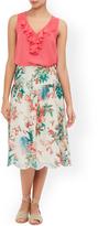 Monsoon Francesca Print Skirt