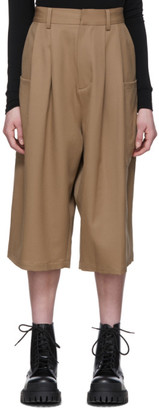 Ambush Beige Harem Shorts