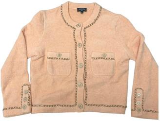 Chanel Orange Cotton Knitwear