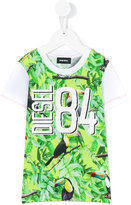 Diesel printed T-shirt - kids - Cotton/Polyester - 2 yrs