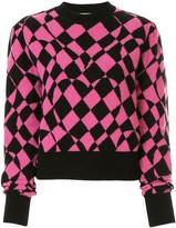 MSGM geometric print jumper