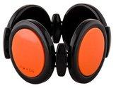Prada Orange & Black Resin Bangle Bracelet