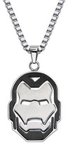 "Iron Man Ironman Men's Marvel® Avengers Stainless Steel Ironman Helmet Pendant with Chain (24"")"