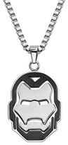 "Iron Man Ironman Men's Marvel® Avengers Stainless Steel Ironman Helmet Pendant with Chain (24"")"