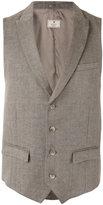 Hackett peaked lapel waistcoat