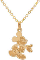 FINE JEWELRY Disney 14K Yellow Gold Mickey Mouse Pendant Necklace