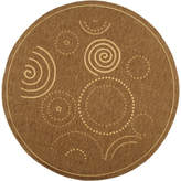 Safavieh Courtyard Circles Indoor/Outdoor Round Rugs