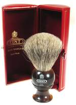 Kent Small Travel Horn Best Badger Shave Brush - H4