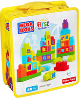 Mattel Mega First Builders ABC Block Set