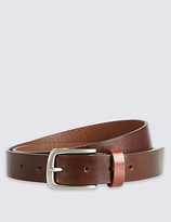 Best Of British For M&s Collection Made In The Uk Brown Leather Belt